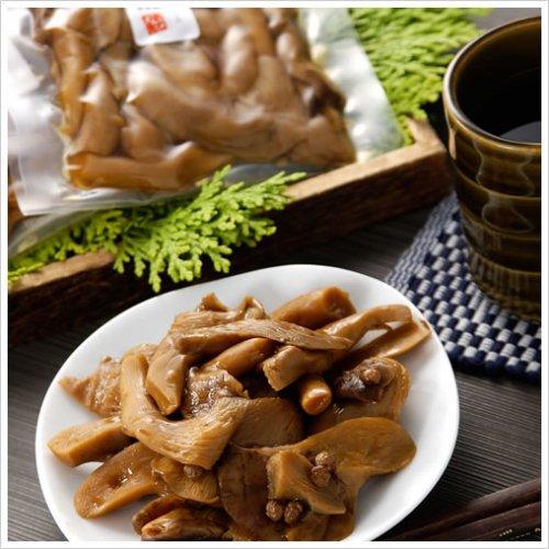 滋賀竜王足太あわび茸佃煮100g×10袋箱入り(山椒煮5袋と昆布煮5袋)