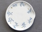 桃窯 青茶の実 箸置き小皿