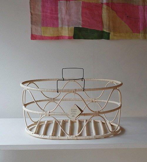 エフスタイル-籐のかご波型(楕円)