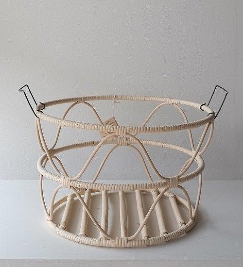 エフスタイル-籐のかご波型(円)