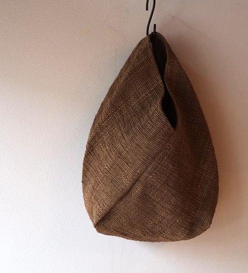 エフスタイル-シナの裂き織ねじり袋 (白)