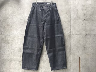 Selvedge denim pants(wide straight)
