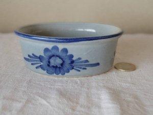 デンマーク インディゴ色 ミニグラタン皿 2  denmark indigo small baking dish