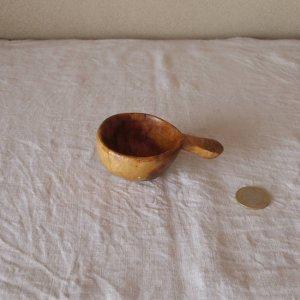 スウェーデン 古い 木のスプーン sweden wood spoon scoop