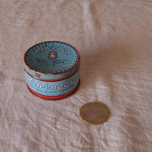 チェコ コヒノール まち針缶 カン ティン czech kohinoor vintage tin