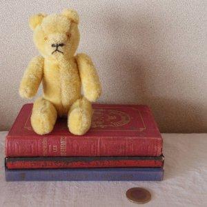 ハンガリー 小さなテディベアー イエロー hungary teddy bear old vintage small yellow