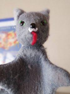 チェコ パペット(手人形) 狼 オオカミ czech puppet wolf vintage