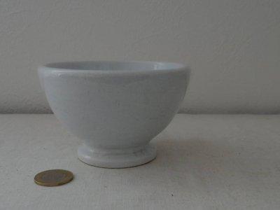 マーストリヒト 白い陶器のボウル2 petrus ragout & co maastricht porcelan bowl
