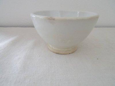 イタリア 鷲のマークの白い器 陶器のボウル Italia porcelan bowl white eagle