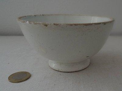 イタリア 白い陶器のボウル ヴェドヴァ ベージオ エ フィーリオ  Italia porcellana bowl Vedova Besio & Figlio