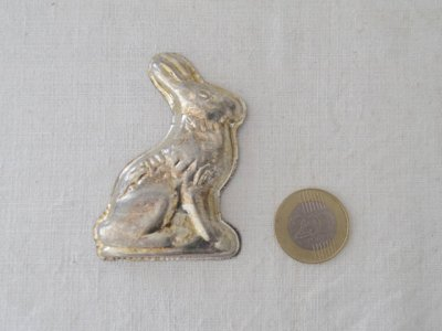 ハンガリー ウサギ お菓子の型 クッキー型 モールド イースター 珍しいハンドメイド材料・Mold Mould rabbit easter