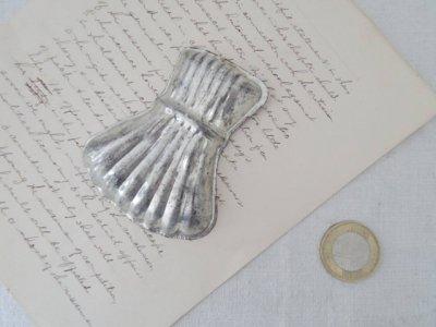 チェコ シェル型 巾着袋 お菓子の型 クッキー型 モールド マドレーヌ型 珍しいハンドメイド材料・Mold Mould shell vintage