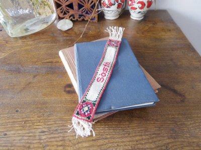 ハンガリー 刺繍 クロスステッチ しおり ブックマーカー  Hungary enbroidery bookmarker