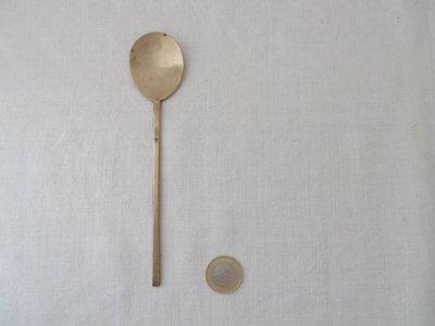 韓国 古い 真鍮のスッカラ 2 Korea vintage spoon brass
