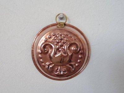 銅 焼き菓子型 小 アザミ アーティチョーク 1・Copper Mold Mould small thistle artichoke