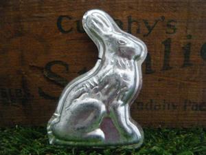 チェコのモールド ウサギ 大 お菓子の型 クッキー型 モールド 珍しいハンドメイド材料・Mold Mould Czech rabbit easter