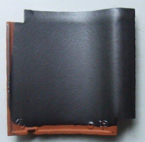 【中古】J形53A銀黒桟瓦8枚セット