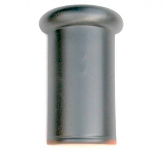 紐丸 5寸 銀黒 10枚セット