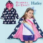 <img class='new_mark_img1' src='https://img.shop-pro.jp/img/new/icons14.gif' style='border:none;display:inline;margin:0px;padding:0px;width:auto;' />Hatley ハットレイ キッズ スプラッシュジャケット/レインコートユニコーン 色が変わる 洗える 洗濯機OK