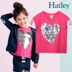 <img class='new_mark_img1' src='https://img.shop-pro.jp/img/new/icons14.gif' style='border:none;display:inline;margin:0px;padding:0px;width:auto;' />Hatley ハットレイ Tシャツ スパンコール ハート 女の子 綿100%