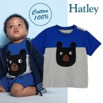 <img class='new_mark_img1' src='https://img.shop-pro.jp/img/new/icons20.gif' style='border:none;display:inline;margin:0px;padding:0px;width:auto;' />【SALE】Hatley ハットレイ Tシャツ くま ブランド 子供 おすすめ 男の子 ジュニア キッズ 綿100%
