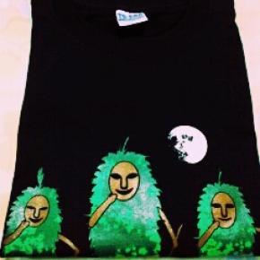 大人気・宮古島限定島尻パーントゥ・三人衆Tシャツ・嵐の大野君デザイン愛用  嵐グツズ