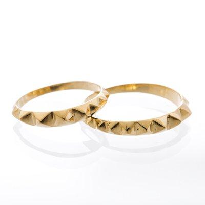 TAPER STUDS pinky ring