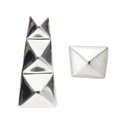 TAPER STUDS pierced earrings