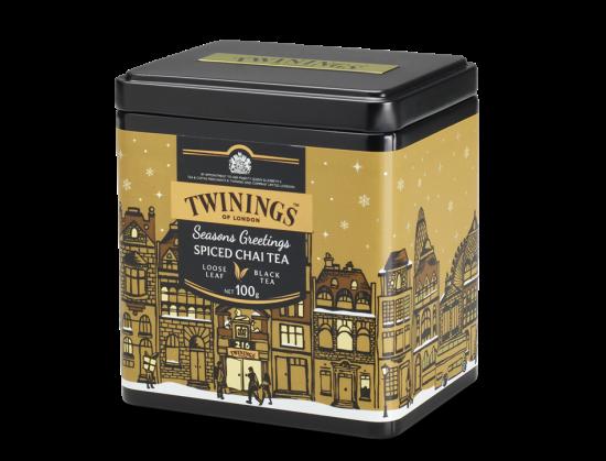 トワイニング クリスマス限定紅茶  クリスマス チャイティー  / ルース茶葉   日本未発売