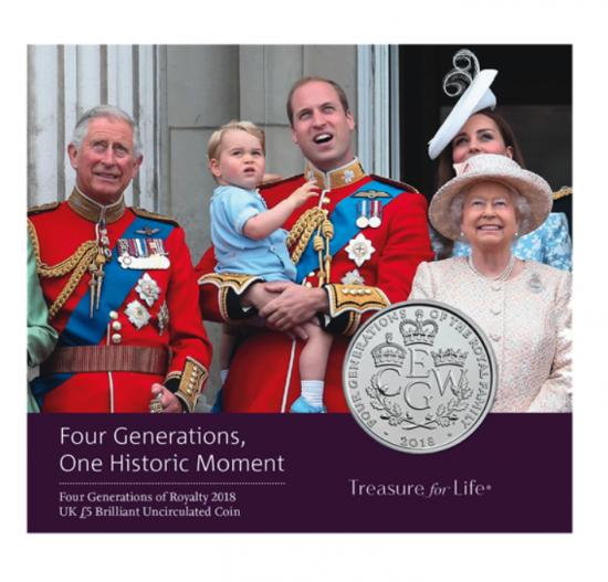 英国王室 エリザベス女王と王位継承者...