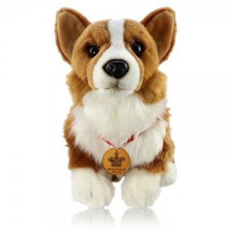 英国王室オフィシャル商品  バッキンガム宮殿 ・エリザベス女王のコーギー犬   ぬいぐるみ