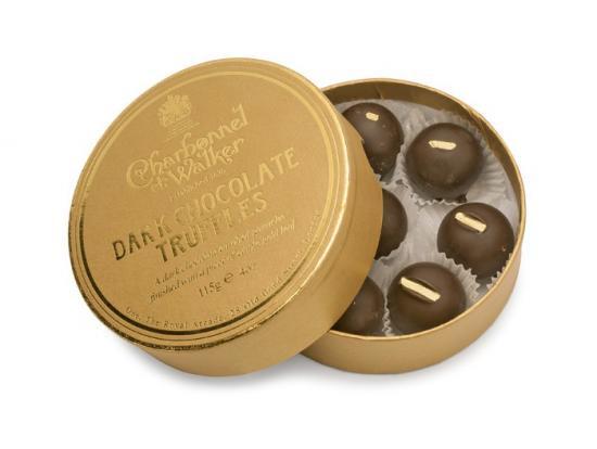 英国王室御用達 シャルボネル・エ・ウォーカー社 ダーク ・ チョコレート トリュフ