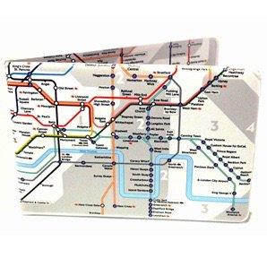ロンドン交通局オフィシャル   カード・ケース   ロンドン地下鉄路線図