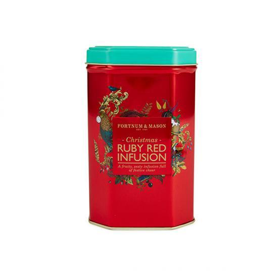 フォートナムメイソン   クリスマス限定紅茶  クリスマス・ルビーレッド インフュージョンティー  / ティーバッグ …
