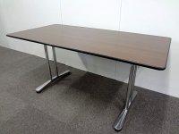 【中古品】オカムラ インターレイス W1500テーブル