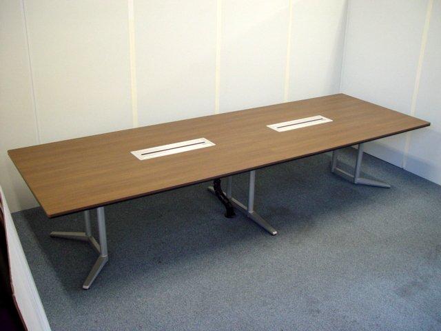【中古品】オカムラ ラティオ2 W3600 大会議テーブル ワケあり