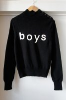 <img class='new_mark_img1' src='//img.shop-pro.jp/img/new/icons50.gif' style='border:none;display:inline;margin:0px;padding:0px;width:auto;' />COMME des GARCONS SHIRT boys ( FRANCE ) 4T-N952 MOCK NECK SWEATER