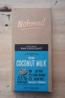 Nohmad Snack Co. ( CA. ) CREAMY COCONUT MILK CHOCOLATE