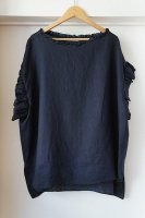 <img class='new_mark_img1' src='https://img.shop-pro.jp/img/new/icons50.gif' style='border:none;display:inline;margin:0px;padding:0px;width:auto;' />[ HOUSE OF LOTUS ] FRENCH LINEN FRILL SLEEVE BLOUSE