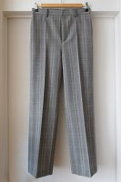 <img class='new_mark_img1' src='https://img.shop-pro.jp/img/new/icons50.gif' style='border:none;display:inline;margin:0px;padding:0px;width:auto;' />[ AURALEE ] SUMMER WOOL GLEN CHECK SLACKS