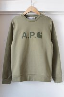 A.P.C. X CARHARTT WIP ( FRANCE ) ICE SWEAT SHIRT