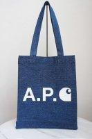 A.P.C. X CARHARTT WIP ( FRANCE ) TOTE BAG