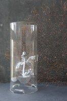 HAND MADE OIL LAMP ( CZECH )  LARGE