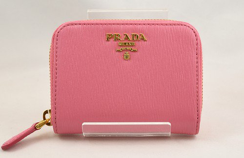 <img class='new_mark_img1' src='https://img.shop-pro.jp/img/new/icons13.gif' style='border:none;display:inline;margin:0px;padding:0px;width:auto;' />PRADA(プラダ)  ピンク コインケース IMM268