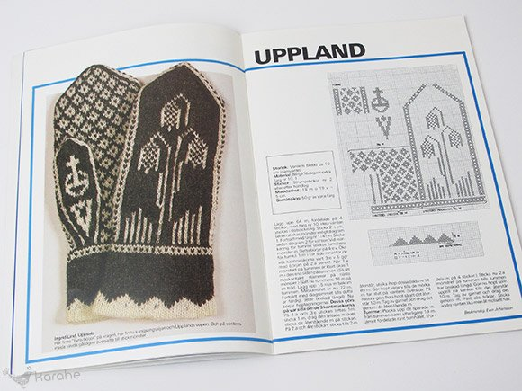 100 Landskapsvantar / スウェーデン ミトンの本