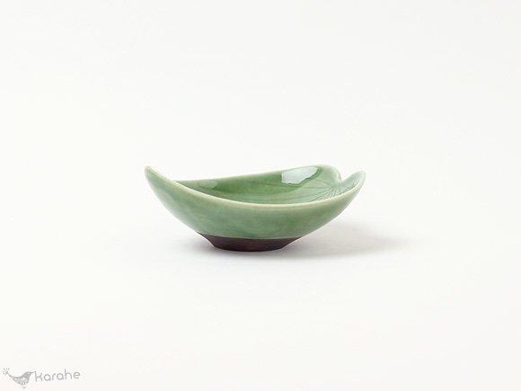 Arabia 葉の形のミニボウル グリーン