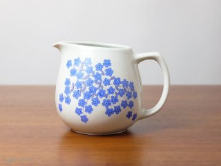 Arabia ピッチャー 青いお花