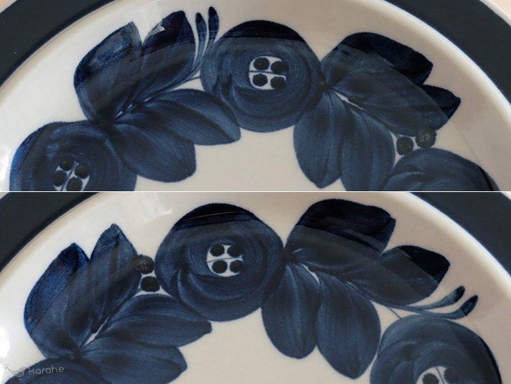 Arabia Anemone プレート 25.5cm 花柄
