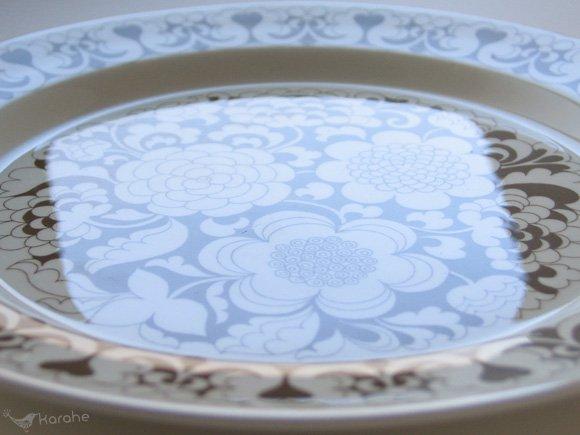 アラビア ガーデニア プレート23.5cm ブラウン / Arabia Gardenia