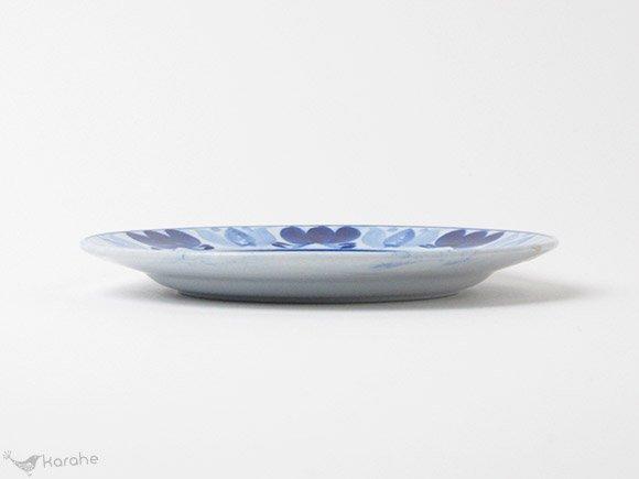 Arabia Blue Laurel プレート 14.5cm